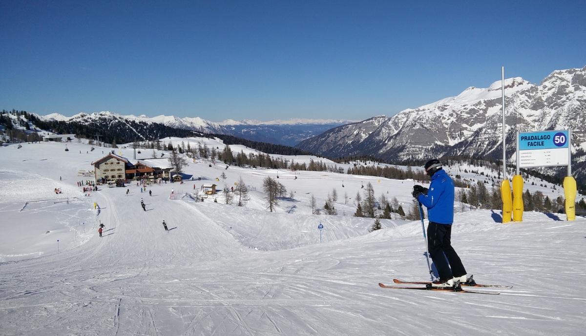 Folgarida skier
