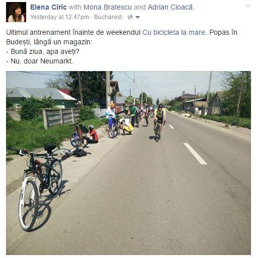 Cu bicicleta la Oltenita