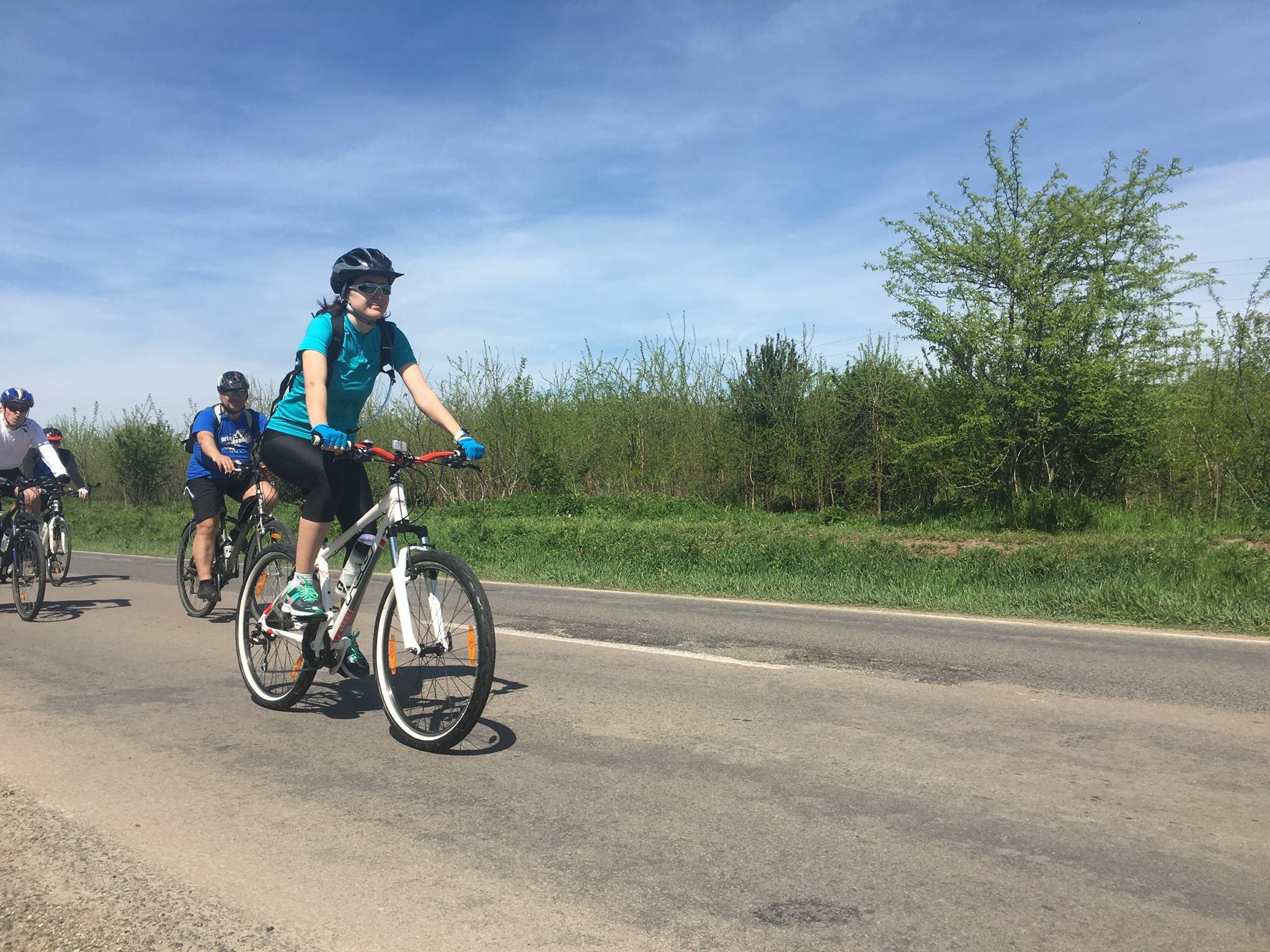 Cu bicicleta spre Oltenita