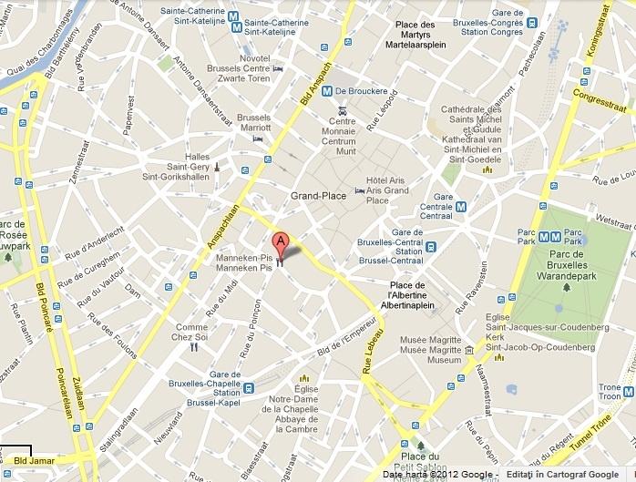 Harta Harta Bruxelles
