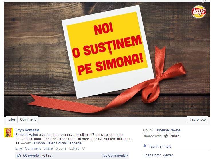 lays _ simona halep