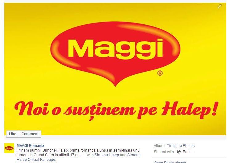 maggi _ simona halep