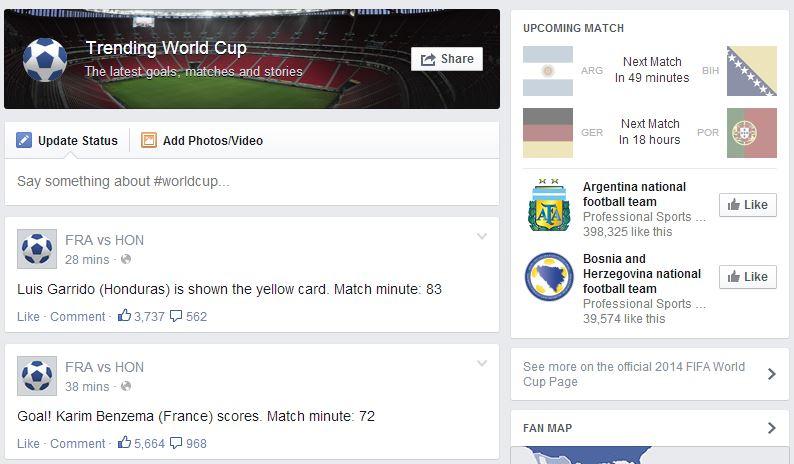 trending world cup
