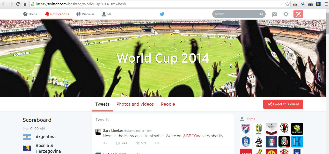 twitter worldcup