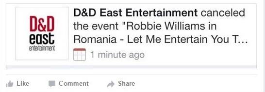 D&D East Entertainment a anulat evenimentul