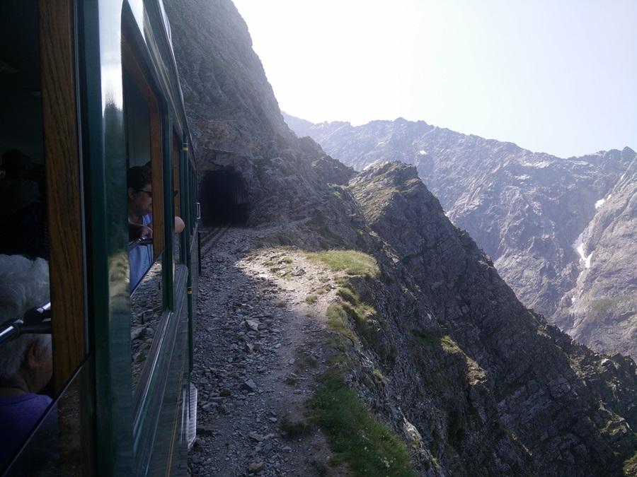 tram to mont blanc