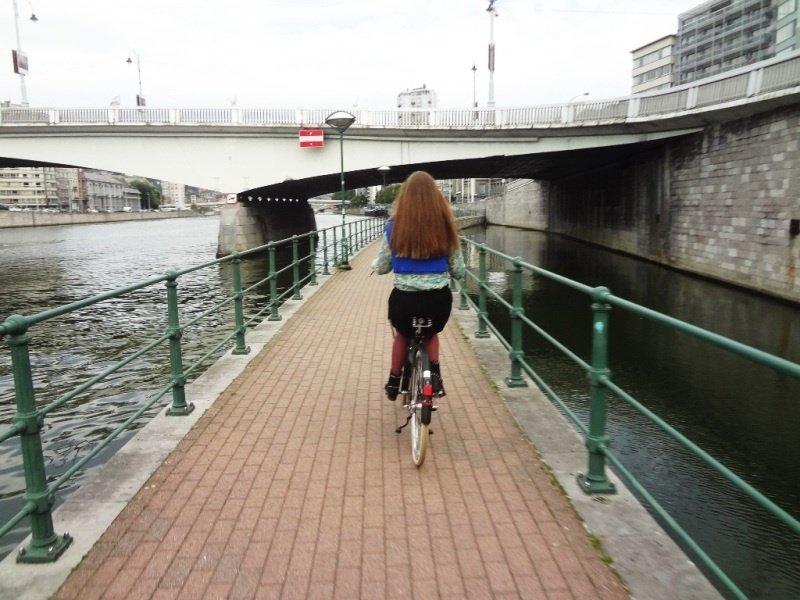 pista de biciclete Meuse