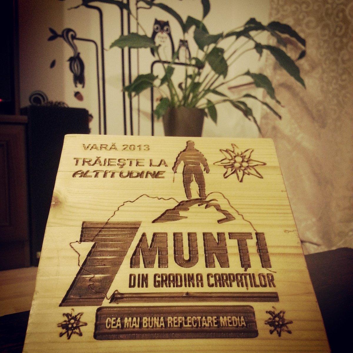 Premiul 7 munti din Gradina Carpatilor