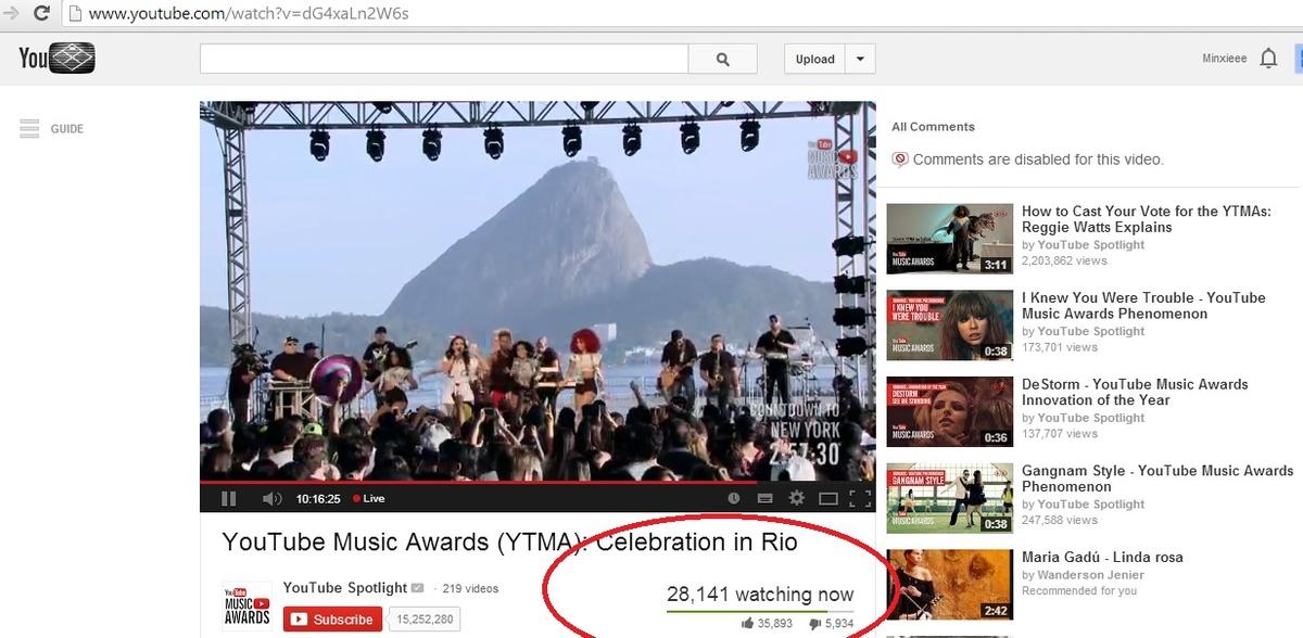 celebration in RIO_YTMA 2013