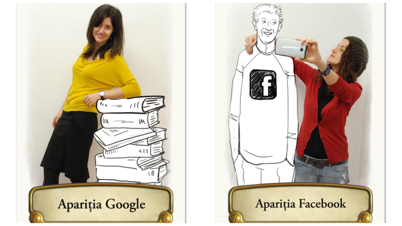 Google versus Facebook_Elena vs Cara